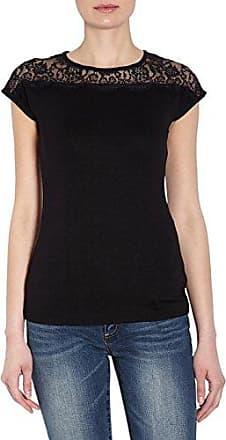 Morgan Dpac.N, Camiseta para Mujer, Negro (Noir Noir), M