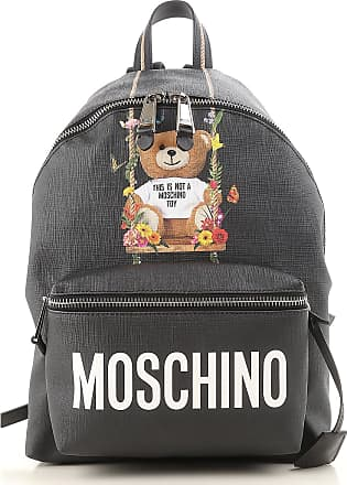 Backpack for Women On Sale, Black, Fabric, 2017, one size Moschino