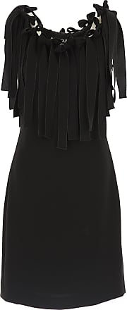 Top for Women On Sale, Black, Triacetate, 2017, 10 12 Moschino