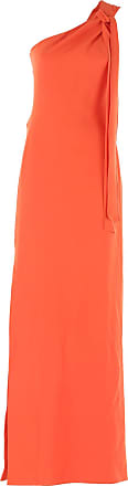 Dress for Women, Evening Cocktail Party On Sale in Outlet, Orange, Triacetate, 2017, 8 Moschino