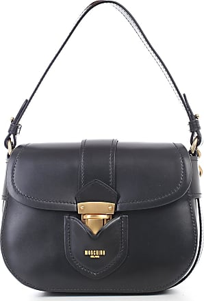 Hot Sale Sale Online Pre Order For Sale Leather Shoulder Bag - Only One Size / Black Moschino RwQ9fVN0H