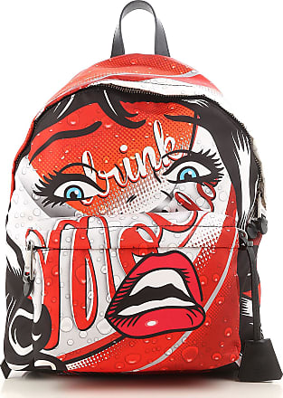 Moschino Backpack for Women On Sale, Red, Nylon, 2017, one size