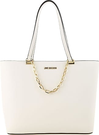 Tote Bag On Sale, Pink, Leather, 2017, one size Moschino