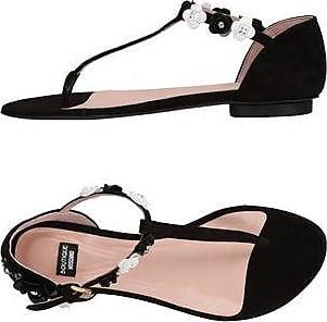 Sandalias de Mujer Baratos en Rebajas, Negro, PVC, 2017, 35 36 38 41 Moschino