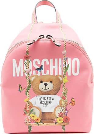 Teddy Backpack - Only One Size / Pink Moschino Best Seller Cheap Price View Discount Sale Online kA2NDf