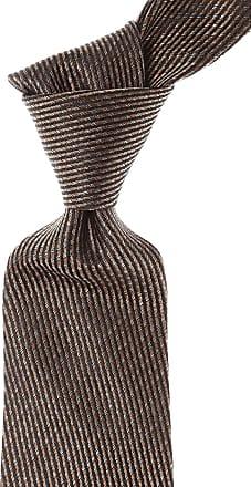 Ties On Sale, Brown Melange, Silk, 2017, one size Moschino