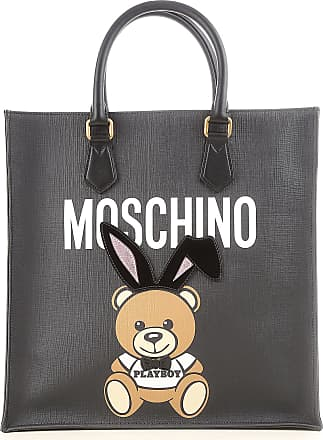 Moschino Tote Bag On Sale, Pink, Leather, 2017, one size