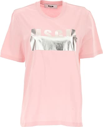 T-Shirt for Women, White, Cotton, 2017, 10 8 Msgm