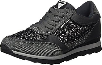 MTNG Anne, Zapatillas Mujer, Gris (Are Gris Oscuro/Glitter Gris Oscuro), 36 EU