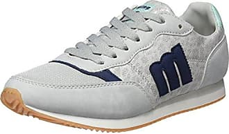 Nanami, Zapatillas de Deporte para Mujer, Gris (Soft Grisnylonka Grisrato Blanco), 41 EU Mtng