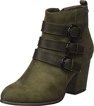 Frida, Weite F, Zapatillas de Estar por casa Mujer, Verde (Forest 5800), 36 (Talla Fabricante: 3.5) Ganter