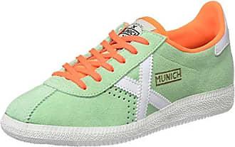 Munich Goal, Zapatillas Unisex Adulto, Multicolor (Green/White 1379), 36 EU