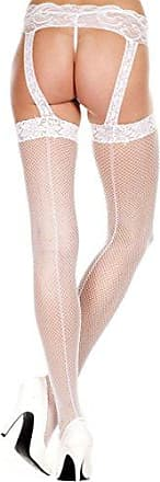 Womens Acrylic Ribbed Stockings Hotpink Knee-High Socks, Pink, One Size (Manufacturer Size:Small/Large 34-40) Music Legs