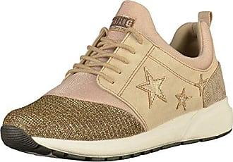 Mustang 1146311 Bronze, Schuhe, Sneaker & Sportschuhe, Sneaker, Braun, Beige, Female, 36