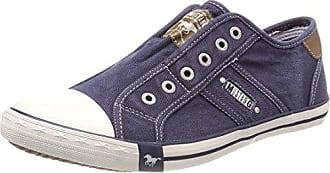 Mustang Herren 4127-401-9 Slip on Sneaker, Schwarz (Schwarz 9), 46 EU