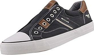Mustang Herren 4127-401-9 Slip on Sneaker, Schwarz (Schwarz 9), 44 EU