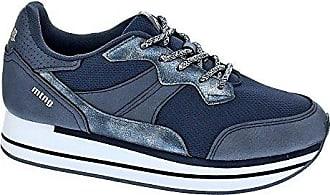 Mustang 69125, Damen Lauflernschuhe Sneakers, Blau - Blau - Größe: 40 EU