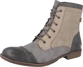 Mustang Shoes Boots in Übergrößen, grau, Grau/Braun Mustang Jeans