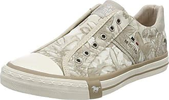 1217402, Sneakers Donna, Bianco (Blanc Cassé (203 Ice)), 39 Mustang