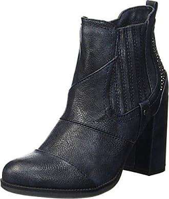 Mustang Damen 1261-501-820 Stiefel, Blau (Navy), 36 EU