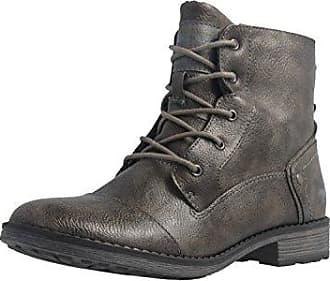9e6bfbca1b5a4 Damen Boots Dunkelgrau Schuhe in Übergrößen Größe44 Mustang Günstig ...