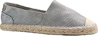 Damen Espadrilles - Gold Schuhe in Übergrößen, Größe:44 Mustang