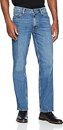 Oklahoma, Vaqueros Slim para Hombre, Blau (Dunkel), 36W x 36L Mustang