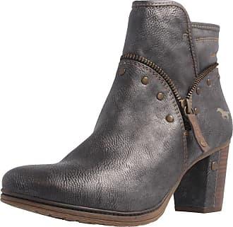 Mustang Shoes Stiefel in Übergrößen, braun, Braun Mustang Jeans