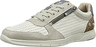 Mens 4115-305-1 Low-Top Sneakers, White, 6.5 UK Mustang