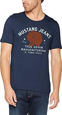Mens Indianer Tee T-Shirt Mustang Free Shipping Good Selling sCPCY