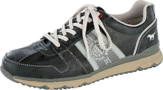 Chaussure À Lacets Mustang Anthracite / Rouge zwsF0