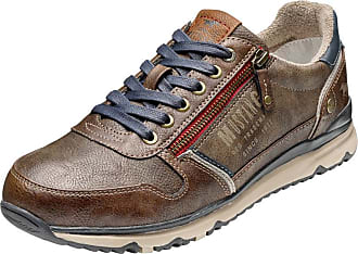 Chaussure À Lacets Mustang Brun wlgRIp