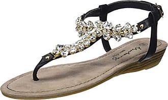 Mustang 1274-802 Schuhe Damen Zehentrenner Sandaletten, Schuhgröße:40;Farbe:Rosa