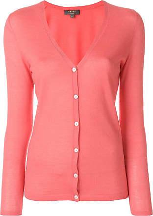 fine cashmere cardigan - Pink & Purple N.Peal Sale Enjoy Ekeql
