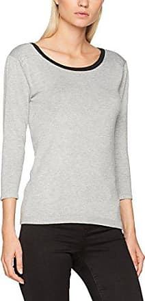 Nafnaf Nadege 3, Jersey para Mujer, Gris (Gris Clair Chin ZA03), M