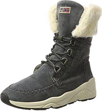 Napapijri Footwear Doris, Bottes de Neige Femme, (Dark Grey N88), 38 EU