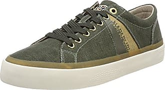 Footwear Gobi, Baskets Homme, Vert (Kaki), 46 EUNapapijri