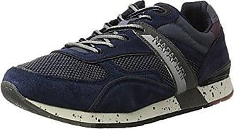 NAPAPIJRI Footwear - Tobillo bajo de Piel Hombre, Color Azul, Talla 45 EU