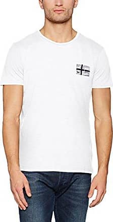 Sneek, Camiseta para Hombre, Verde (Greenhouse Gb5), X-Large Napapijri