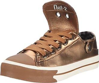 Nat-2 Stack 4 in 1 WS41GB38 - Zapatillas para mujer, color dorado, talla 38