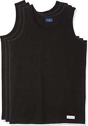 575, Camiseta de Tirantes para Hombre, Negro, X-Large (Talla del Fabricante: 6), Pack de 3 Navigare