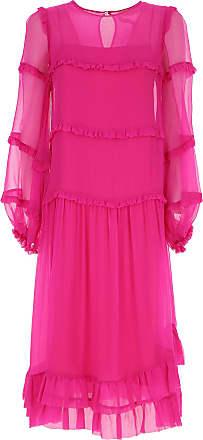 Dress for Women, Evening Cocktail Party, Fuchsia, polyester, 2017, 10 12 8 2BEKINI