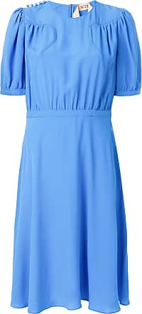 pleated top dress - Blue N lE7SmV