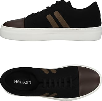 Fabric SKATEBOARD TRAINER BLACK Sneakers Spring/summer Neil Barrett tKuMV3dUfK