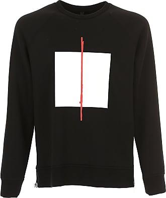Sweatshirt for Men On Sale in Outlet, Blue, Viscose, 2017, XS Neil Barrett