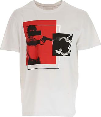 T-shirt Homme Pas cher en Soldes, Marine, Coton, 2017, LNeil Barrett