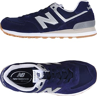 New Balance 574 Suede - Nylon Bright Sneakers & Tennis Basses Femme. rEMER