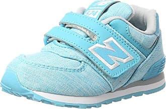 New Balance 574, Zapatillas infantil, Varios Colores (Teal/White), 30 EU