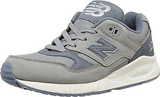 577v4, Chaussures de Fitness Femme, Gris (Grey/White), 40.5 EUNew Balance