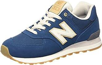 New Balance Ml574v2, Sneaker Uomo, Beige/Blu (Beige/Blue), 50 EU